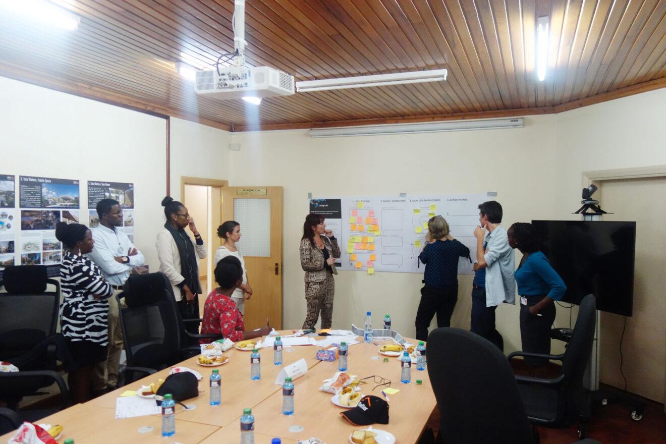 INTI-workshop op de Urban Thinkers Campus in Nairobi