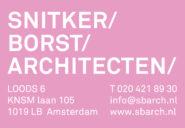 SNITKER/BORST/ARCHITECTEN/ logo