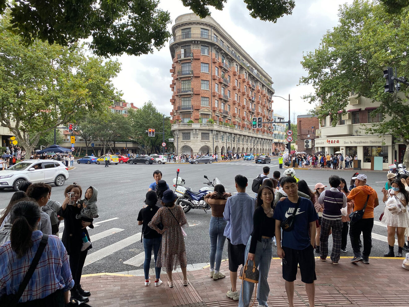 Selfie hotspot Wukang Mansion October 2020 / photo author