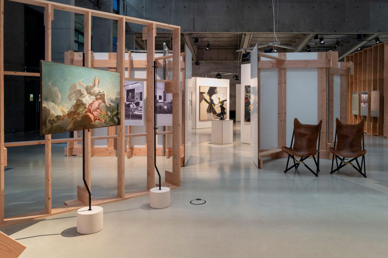 Art on Display 1949-69, Het Nieuwe Instituut / Franco Albini en Franca Helg, Palazzi Bianco en Rosso, Genua, 1949–62