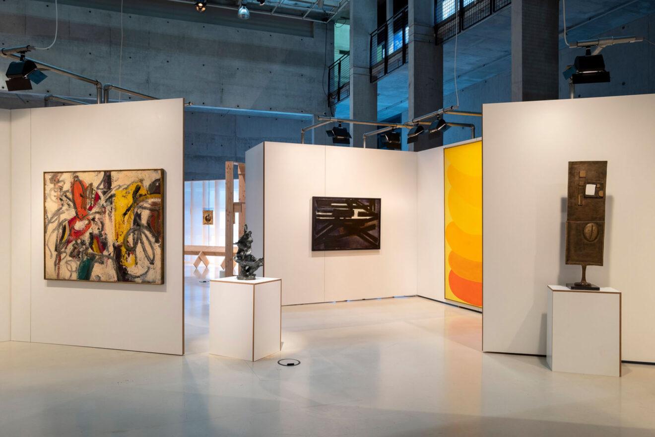 Art on Display 1949-69, Het Nieuwe Instituut / Alison en Peter Smithson, Painting & Sculpture of a Decade 54-64, Tate Gallery Londen, 22 april t/m 28 juni 1964 /