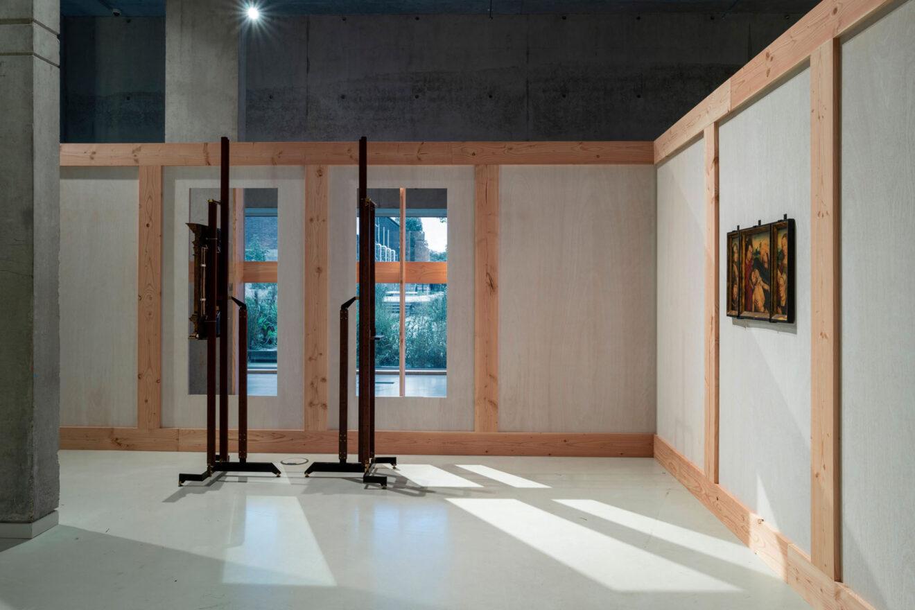 Art on Display 1949-69, Het Nieuwe Instituut / Carlo Scarpa Museo Correr, Venetië, 1957–60